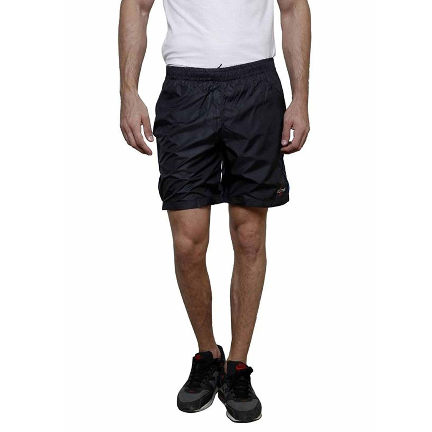 RM Men's Black Running & Sport Shorts