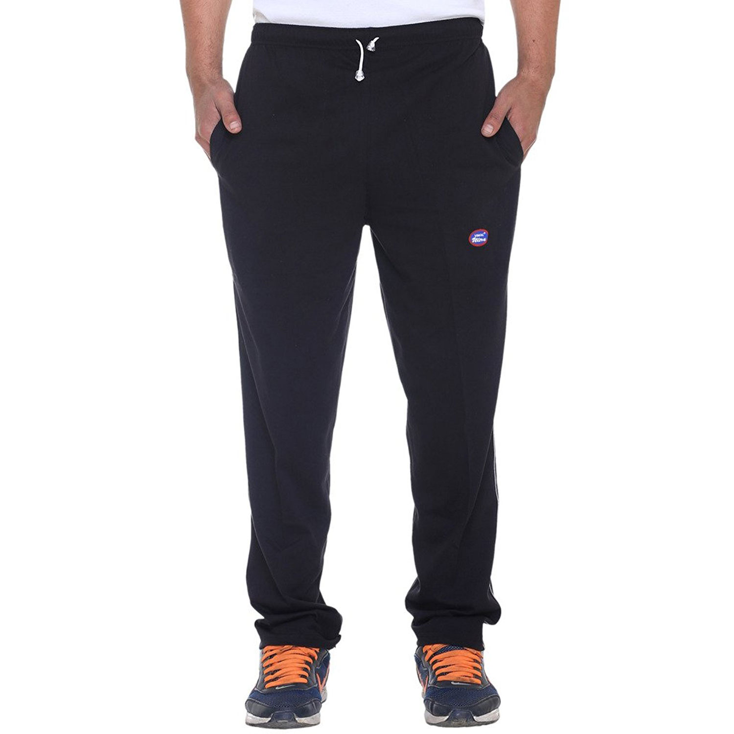 Vimal Men's Solid Cotton Trackpants