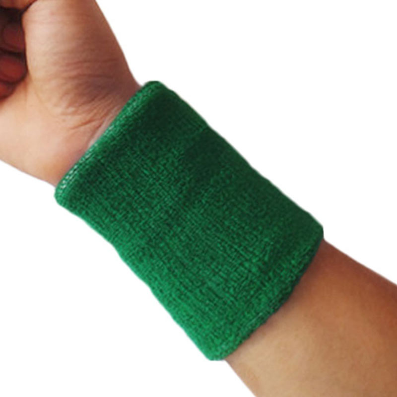 Livecity® One size , Army Green : Livecity 1pc Sports Sweatbands Wristband Tennis Squash Badminton Gym Football Wrist Bands
