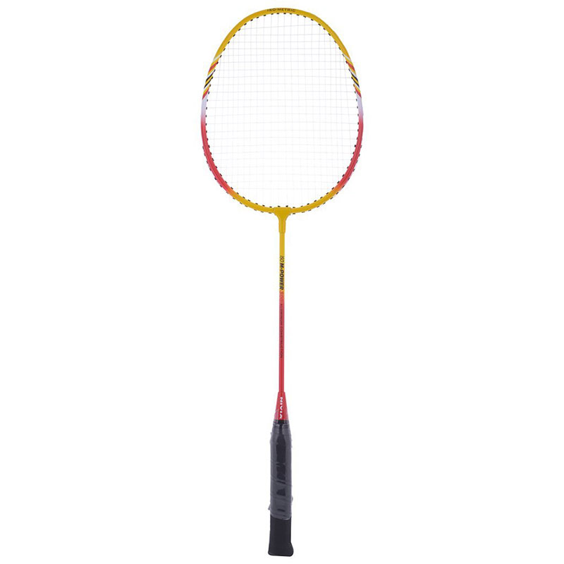 Nivia M-Power 300 Badminton Racket G4 Strung  (Multicolor, Weight - 100 g)