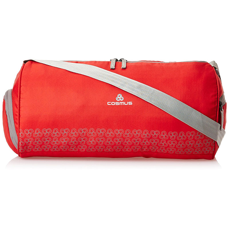 Cosmus Polyester 26 Litres Red Gym Sports Duffel