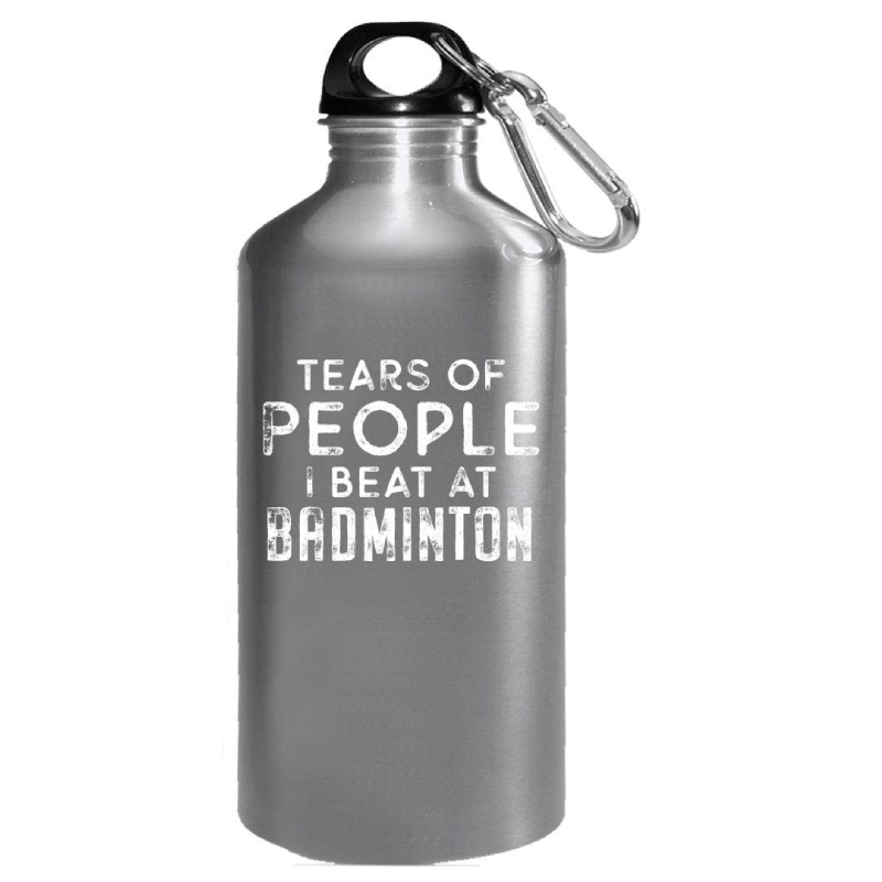 Tears Of People I Beat At Badminton - Water Bottle