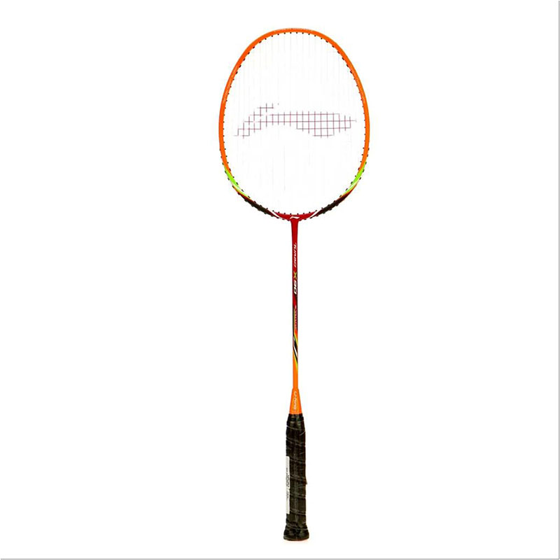 Li-Ning TURBO-X 90 (String Tension Up to 32 LBS) S2 Strung  (Black, Weight - 87 g)