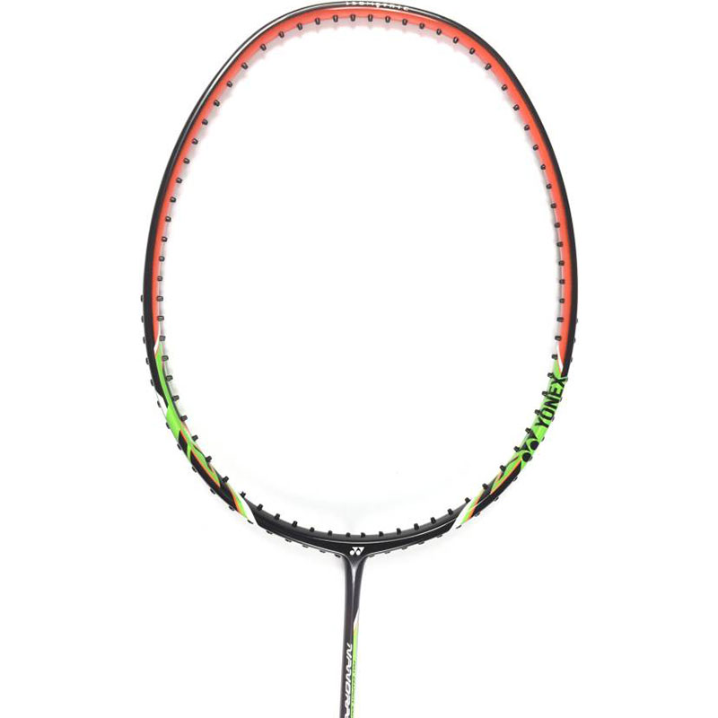Yonex NANORAY LIGHT 9I G4 Strung  (Black, Weight - 77 g)