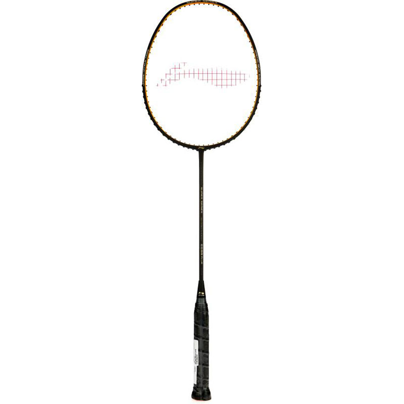 Li-Ning SS99+BLACK S2 Strung  (Black, Weight - 86 g)