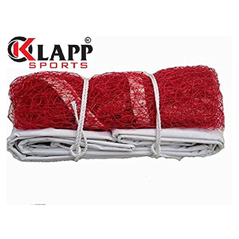 Klapp 4 Sided Niwar Badminton Net With Pack Of 6 Shuttle,(Colour May little Vary)