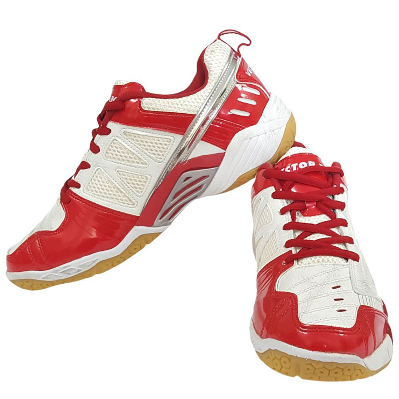 Vector X TS-1030 Tennis Shoes (White,Red)