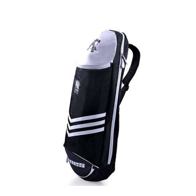 Sport Badminton Rackets Bag Single Shoulder Outdoor Multi-Purpose Light Tennis Bag Black