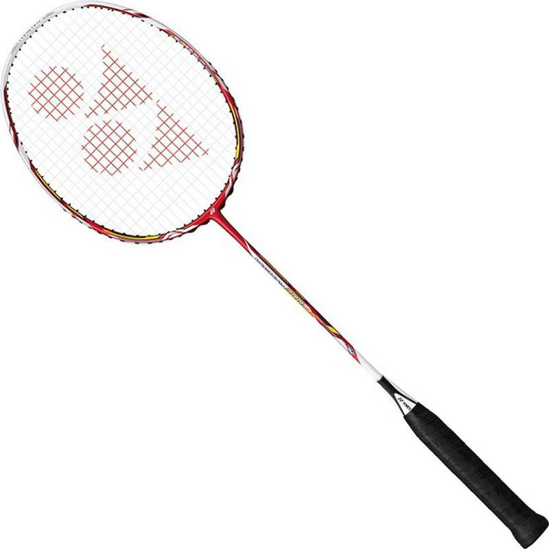 Yonex Nanoray 300 Neo Badminton Racquet With Full Cover G4 Strung  (Red, Weight - 83 g)