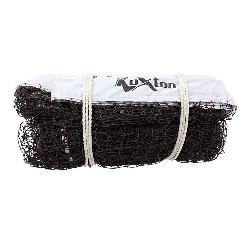 Koxton Badminton Net - Nylon (Nylon, 3 Side Tetron, Tournament)