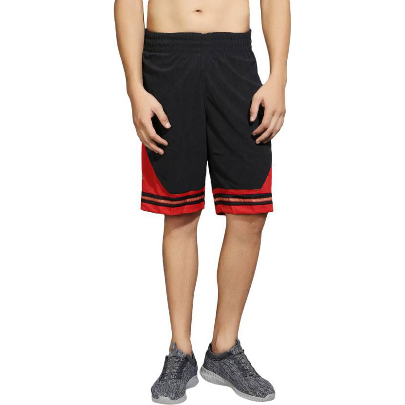 Adidas Solid Men's Black Sports Shorts