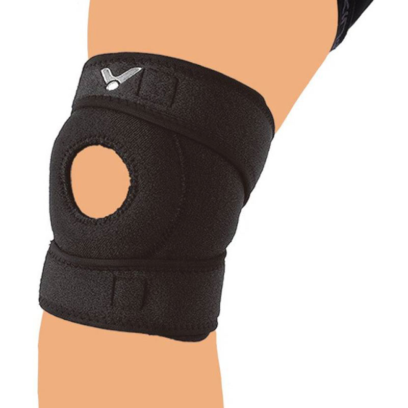 Victor PRESSURE KNEE BELT SP182 Knee Support (Free Size, Black)