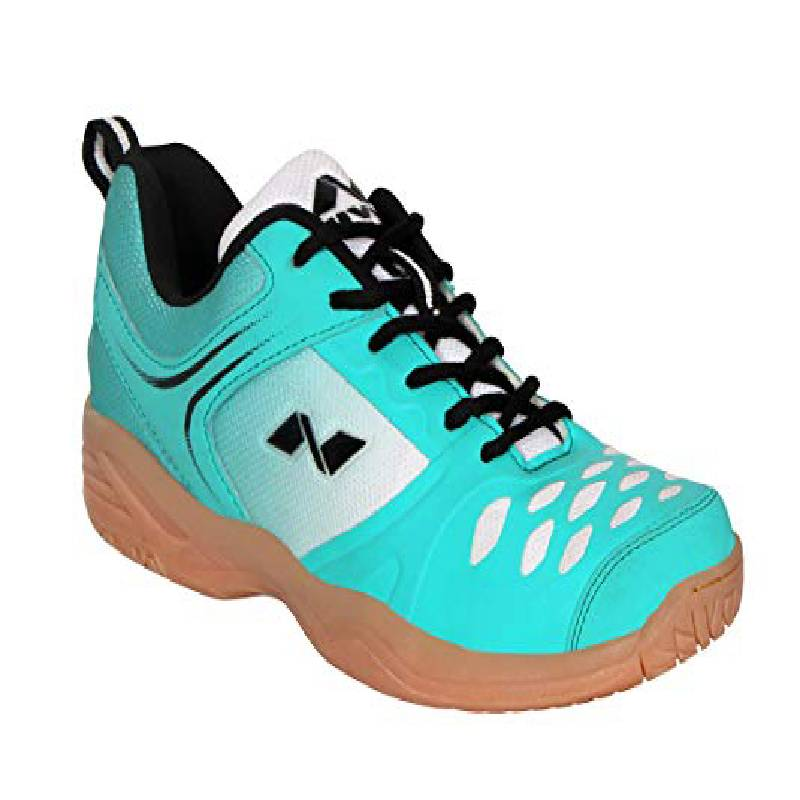 Men's Synthetic Leather Badminton Shoes