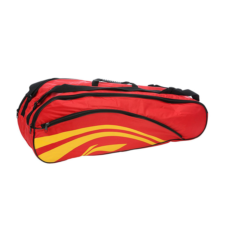 Li-Ning Double Belt 2-in-1 Thermal Racquet Bag (Yellow)