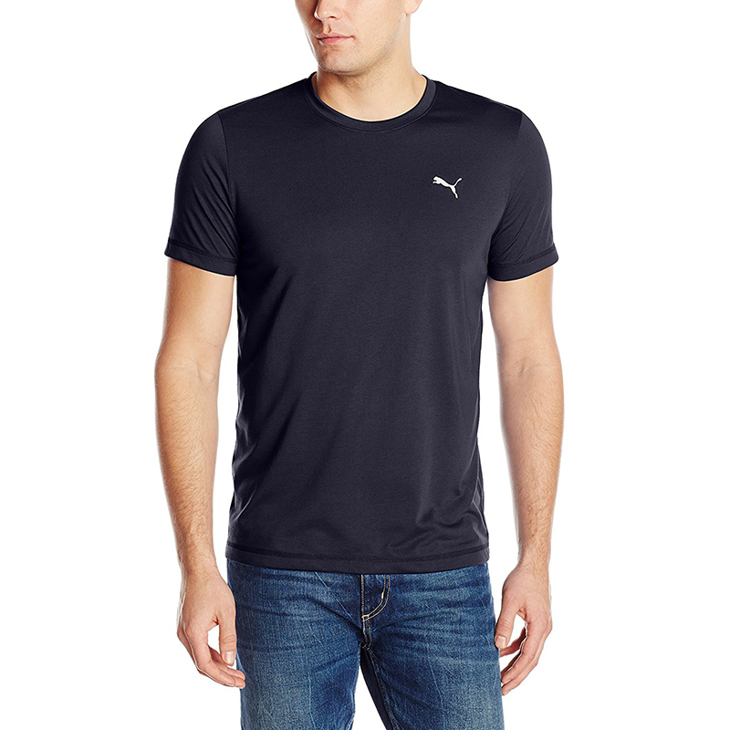 PUMA Men's Essential Short Sleeve Crew Neck T-Shirt