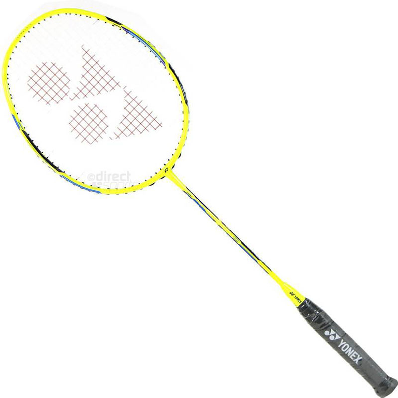 Yonex DUORA 55 G4 Strung  (Yellow, Weight - 85 g)