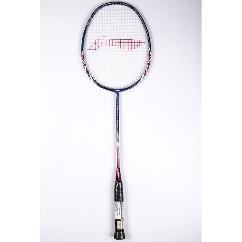 Li-Ning Superseries 2012 England G2 Strung  (Blue, Weight - 82 g)