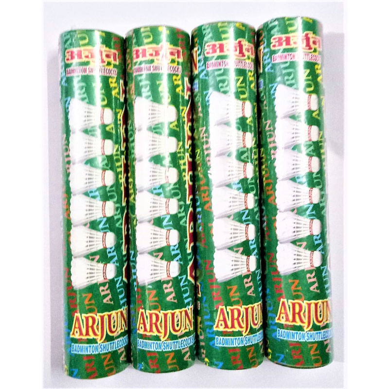 (Choice Pack of 10-200 ) Pieces Arjun Shuttle cocks by Forever Online Shopping
