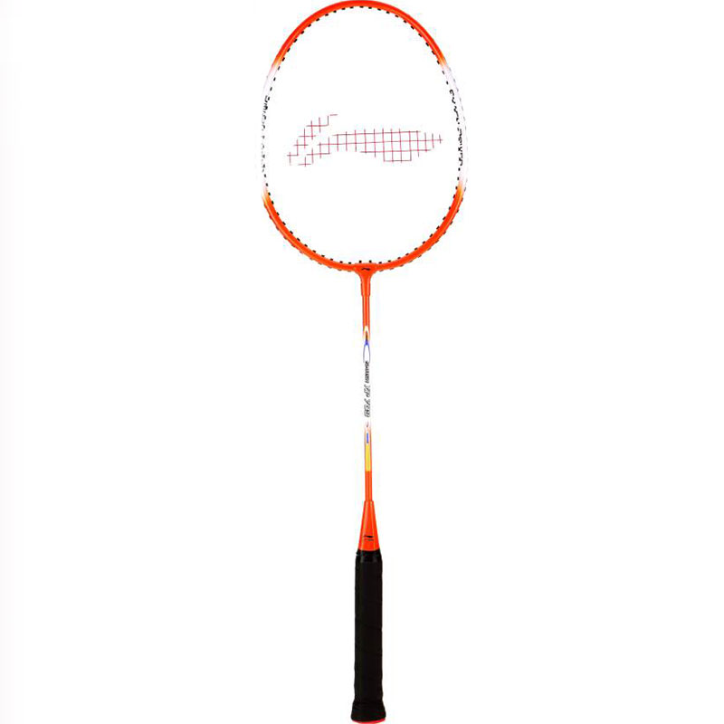 Li-Ning Smash Xp 709 G4 Strung  (Orange, White, Weight - 85 g)