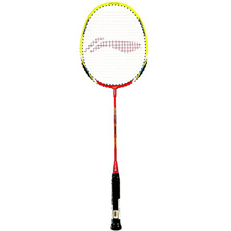 Li-ning Smash XP 80 II Carbon Fiber Badminton Racquet Yellow/Red