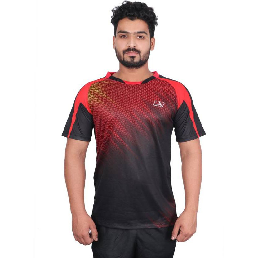 Vector X VRS-006 Sublimation T-Shirt (Red-Black)