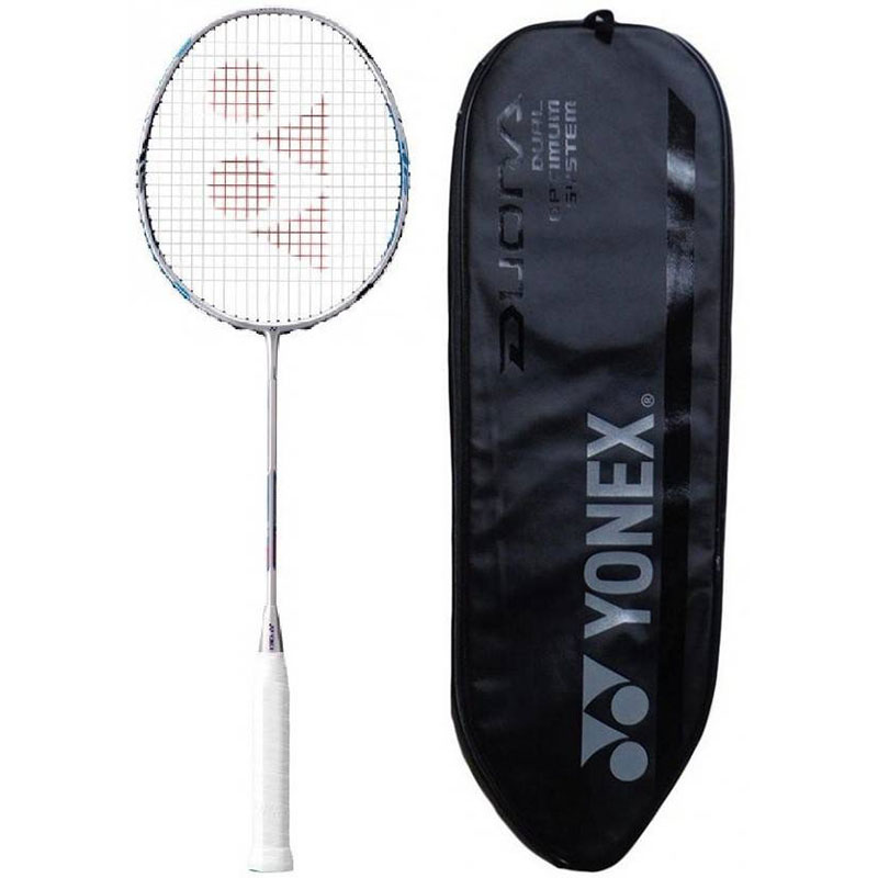 Yonex 'Duora 77 LCW' Badminton Racket (Color on availability) G4 Strung  (Multicolor, Weight - 95 g)