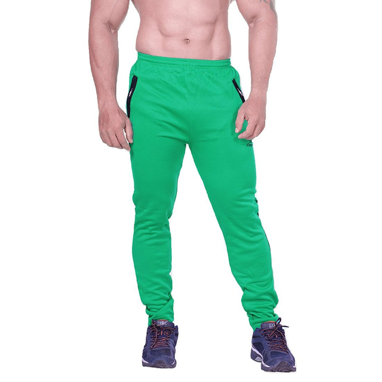 Fingers Mens Polyester Track Pant For Sports Gym Cycling – Winter Track Pant