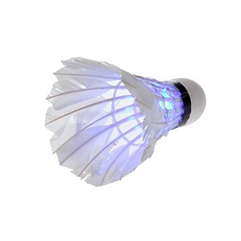 Brand New YKS 5*Dark Night LED Badminton Shuttlecock Birdies Lighting Blue