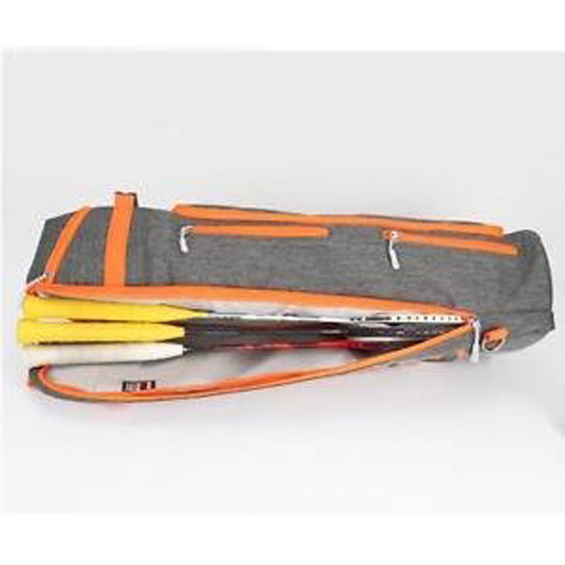 Brand New Alcoa Prime Functional Badminton Rackets Equipment Bag Gym Sport Storage Bag Gray Orange