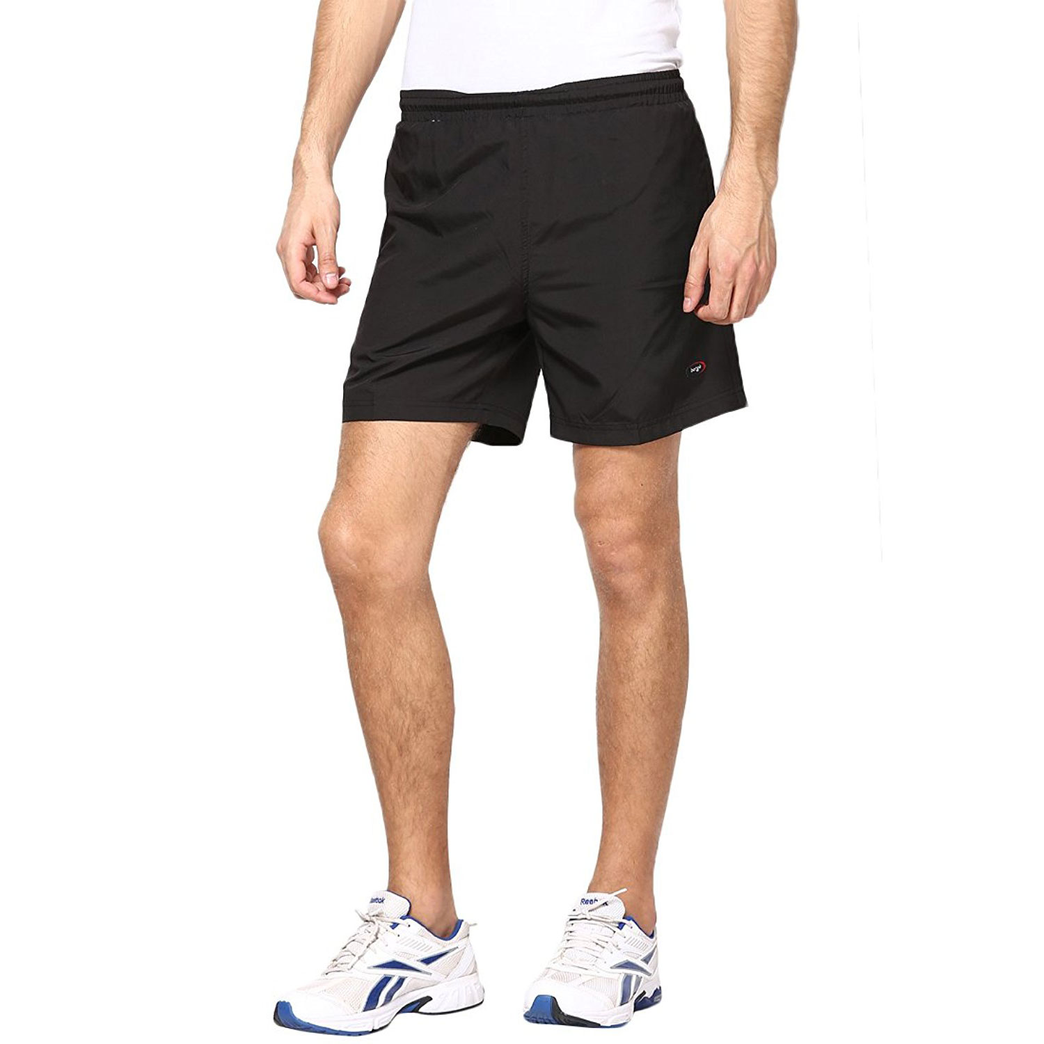 Berge Men's Black Woven Shorts