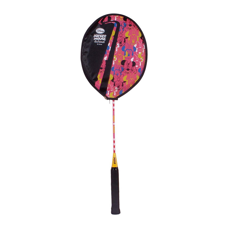 Disney Minnie Mouse Badminton Racquet, Junior G4 (Pink)